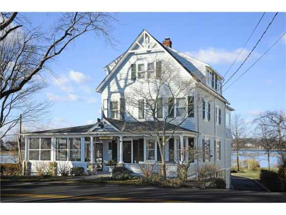 """187 Shore Road, $3.495M, just a block up from the entrance to Tod'sPoint.  This is a Gid """"must-see""""."""