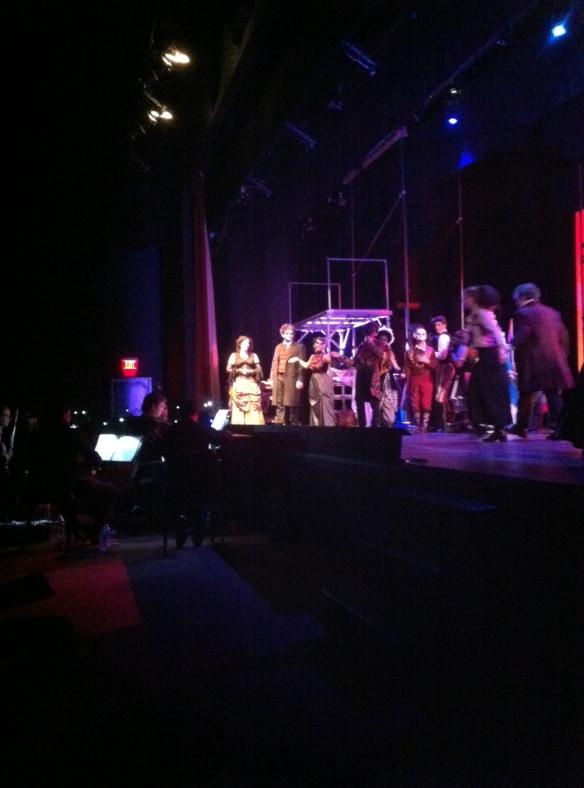 Brunswick Theater performing Sweeney Todd last Saturday night.