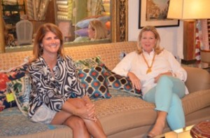 Kim Swift (left), and Abigail Moore, both of Kelly Assoc., Darien. I like their blog.