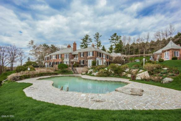 """42 John Street, perched at the top of Greenwich's """"Round Hill"""", yours for $7.250M."""