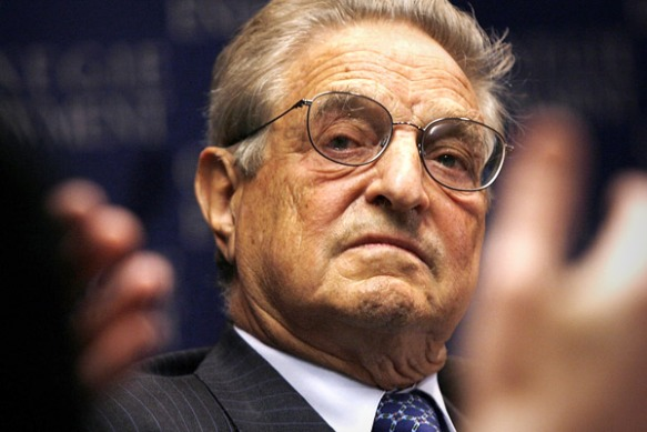 George Soros, clown? evil genius? he's both!