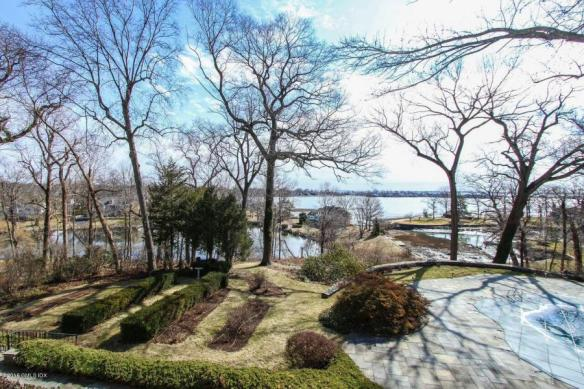 The view from 107 Meadow Road, $6.995M. No show till after broker open house on Thursday and guess what? All Thursday appointment times are already reserved. Sounds like plenty of demand to me!