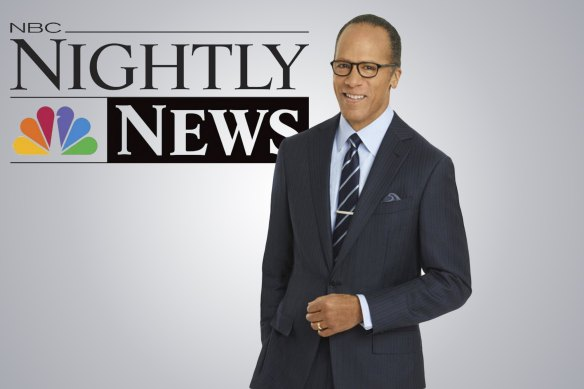 The always fair, always impartial, Lester Holt. Critics accuse him of clear bias in his (now revealed) choice of questions for the candidates.